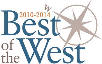 2010, 2011, 2012, 2013 & 2014 Best of the West, Voted Best Men's Fashions - Ford's Clothier, Rocky River Ohio